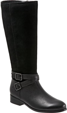 Trotters Larkin knee high boot | 40plusstyle.com