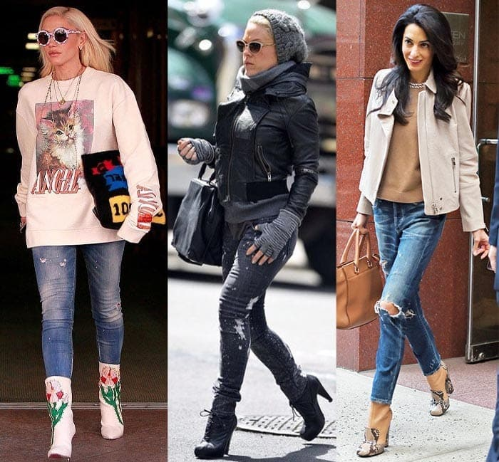 Celebrities with a STREET/URBAN style personality | 40plusstyle.com