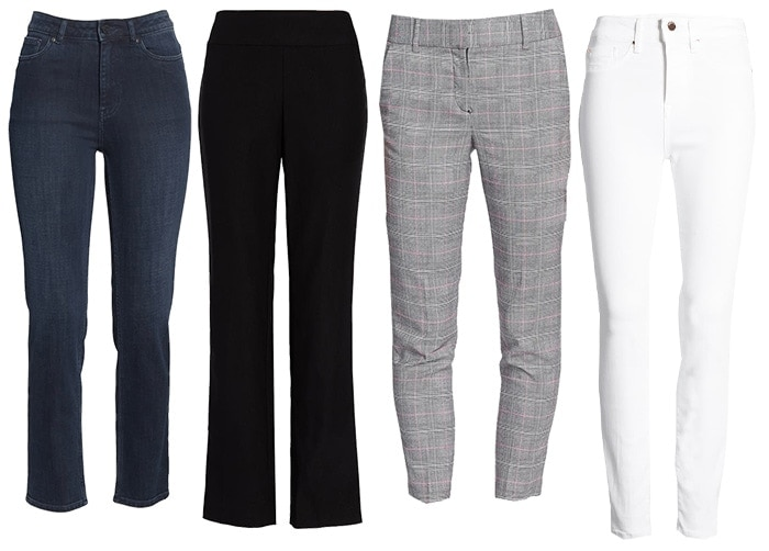 Pants and Jeans for classic fashion style | 40plusstyle.com