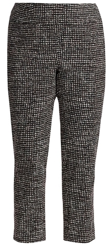 Nic + Zoe tweed print trousers | 40plusstyle.com