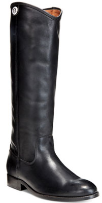Frye's Melissa tall wide calf boots | 40plusstyle.com