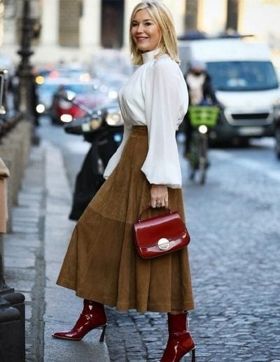 How to dress for Valentine's Day: 9 Valentine's outfits to choose from | 40plusstyle.com