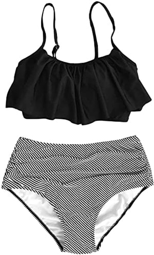 bikinis with full coverage | fashion over 40 | style | fashion | 40plusstyle.com