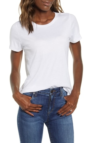 Best white t-shirts - BP. crewneck t-shirt | 40plusstyle.com