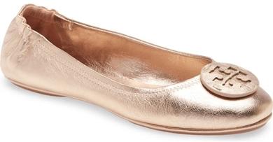 Best ballet flats - Tory Burch 'Minnie' travel ballet flats | 40plusstyle.com