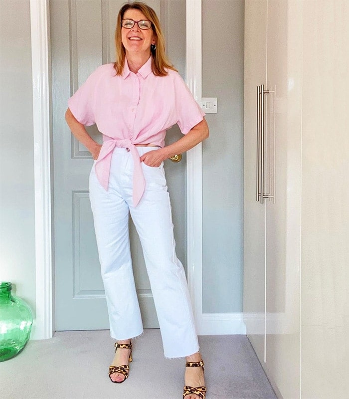 The best white jeans for women over 40 | 40plusstyle.com