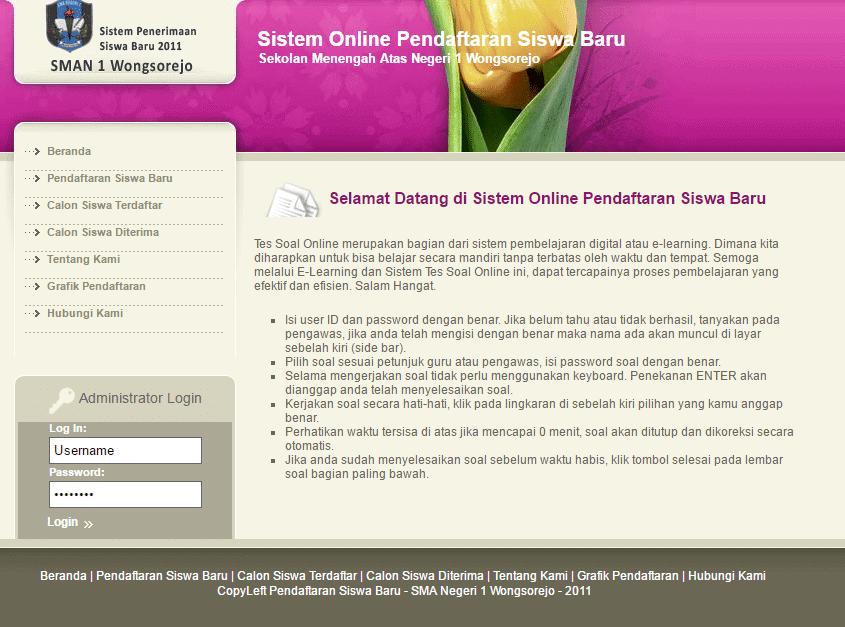 Alternatif Aplikasi PPDB Online
