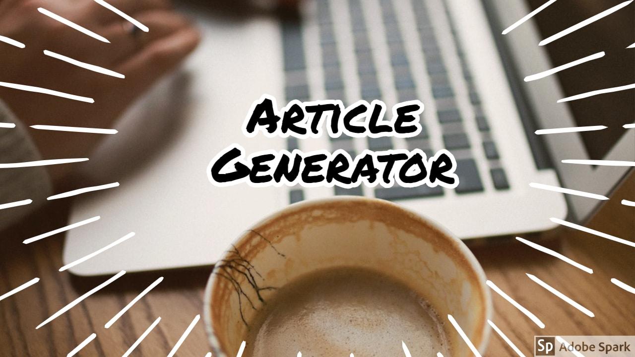 Article Generator | Membuat ratusan tulisan promosi produk otomatis berdasarkan kota di Indonesia.