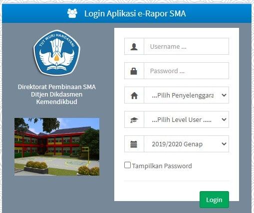 Jasa Setting E-Rapor Online SD, SMP, SMA, SMK (*Bonus VPS Windows 1 Bulan)
