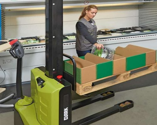 Clark Electric stacker WS10 (2)