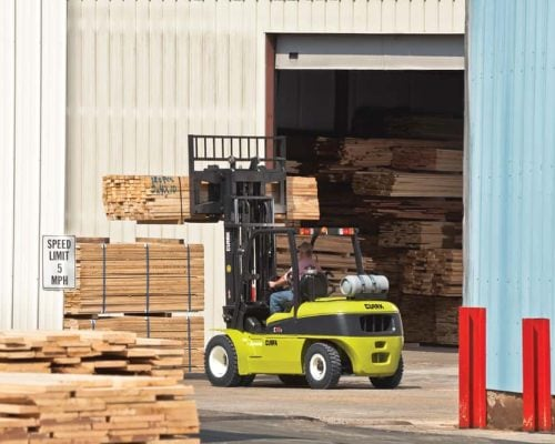 Clark Forklift with diesel or LPG drive C40-55s (5)