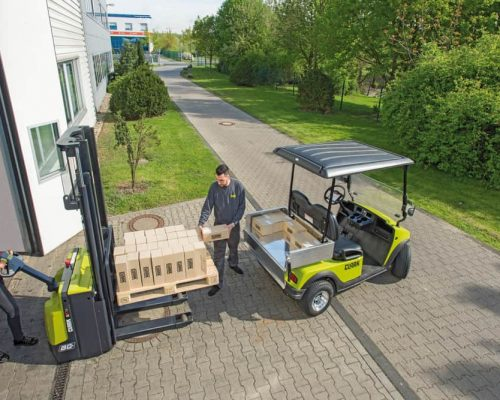 Electric stacker SX1216 (2)