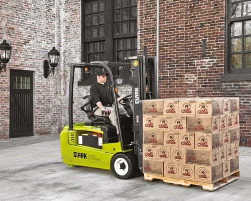 Electric three-wheel forklift GTX16-20s (4)