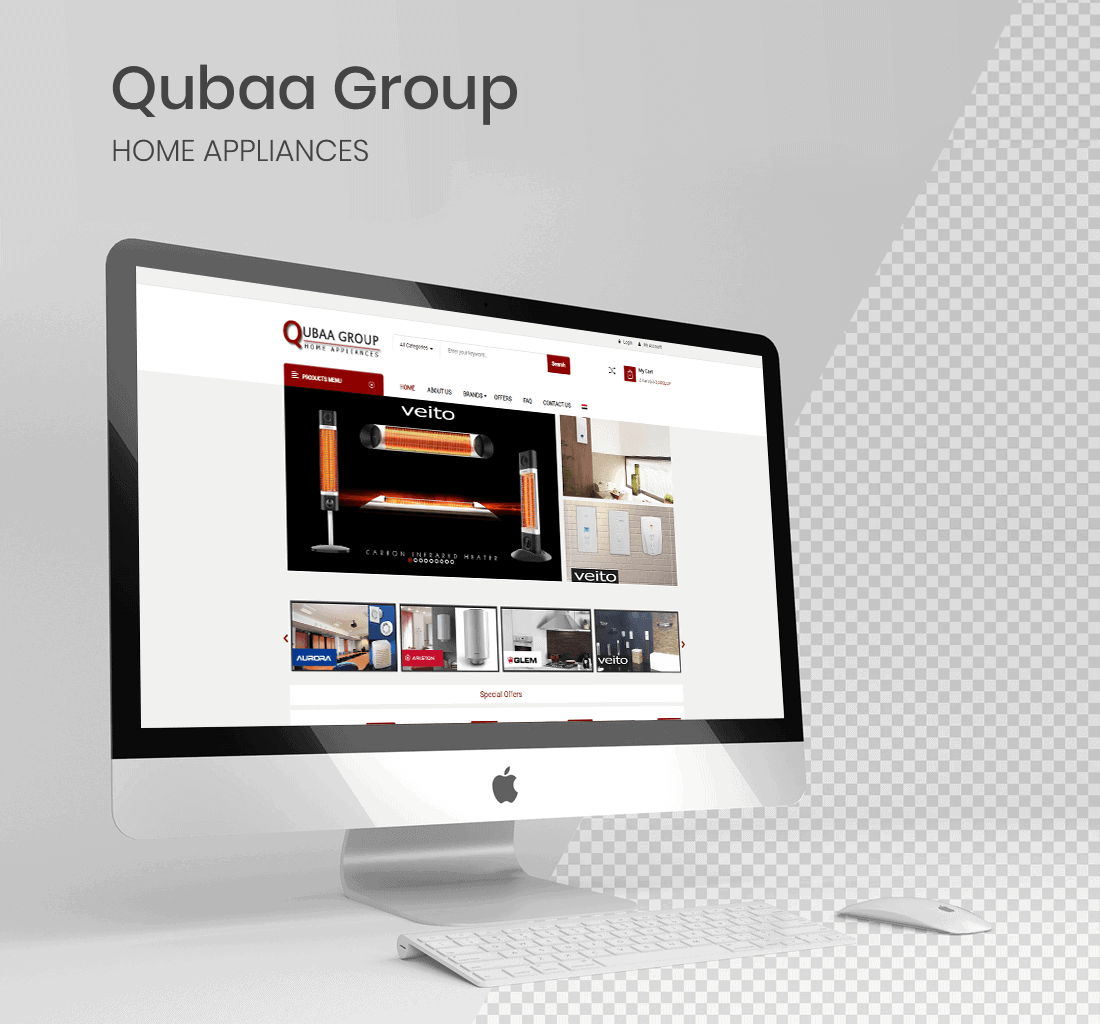 Alex Web Design and development company clients in Egypt Qubaa Group