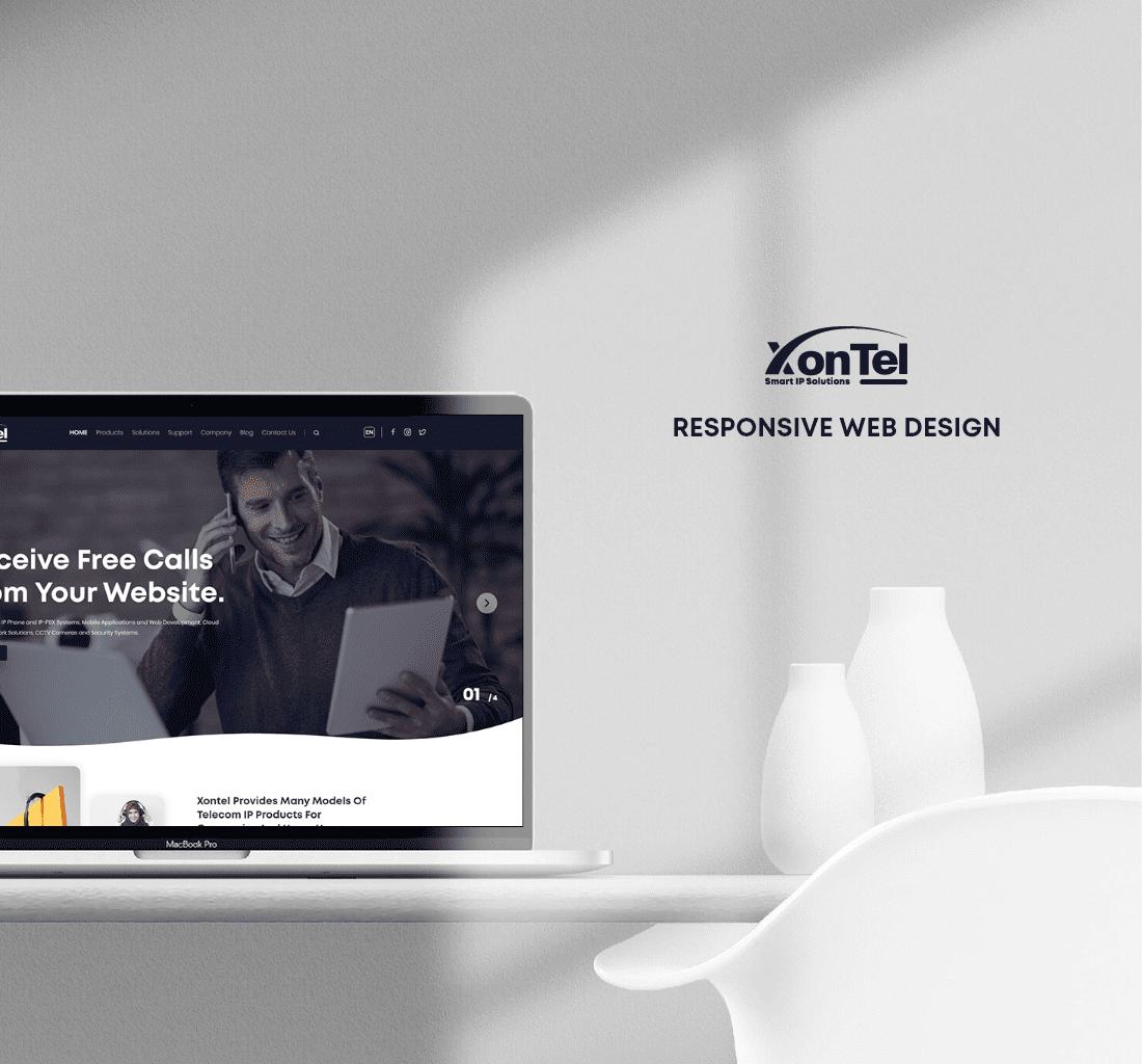 Alex Web Design, website development and mobile app development company clients in Egypt - Xontel Telecommunications Products & Solutions