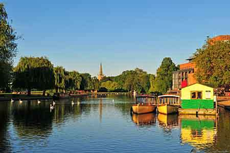 Beautiful and famous Stratford upon Avon