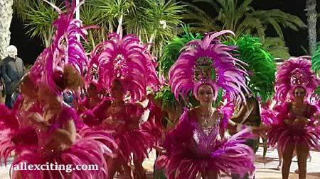 Sitges Carnival, Spain.  24 February – 2 March 2022