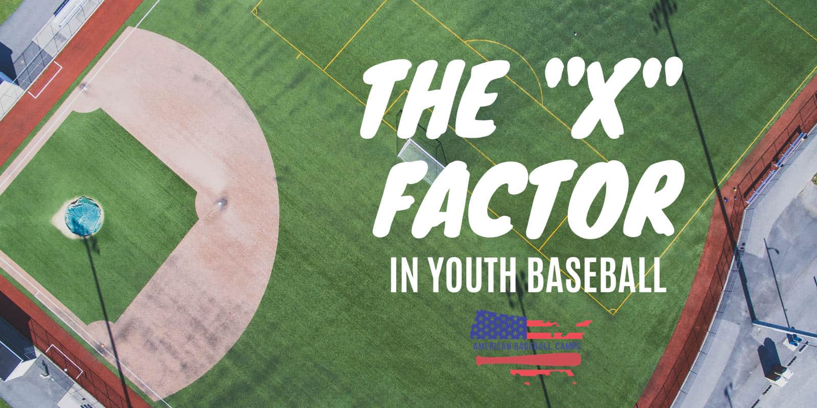 """The """"X FACTOR"""" In Youth Baseball"""