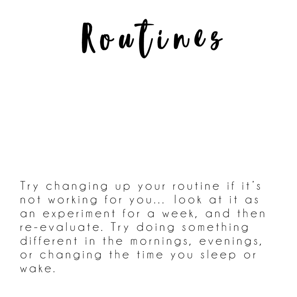 routines quote