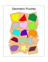 Geometric Shape Puzzles – Free Craft Tutorial – Animaplates
