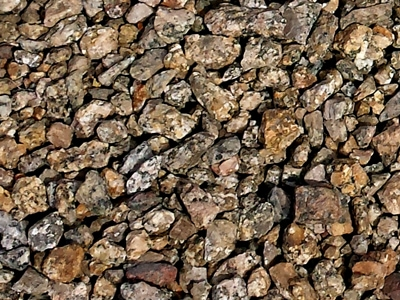 Cactus Gold Tucson Landscaping Rocks Decorative Rocks is granite that is naturally gold in color with a unique blend of tan, cocoa and rose tones which make it perfect for accenting areas around other rock gardens or use in large outdoor concrete planters. It comes pre-screened in four different sizes. At Arizona Trucking & Materials, we offer a large selection of landscaping rocks, flagstone and other organic materials.