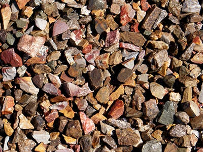 Desert Brown Tucson Landscaping Rocks Decorative Rocks is granite that is naturally brown in color with a unique blend of rose, slate and caramel tones which make it perfect for accenting areas around other rock gardens or use in large outdoor concrete planters. It comes pre-screened in four different sizes. At Arizona Trucking & Materials, we offer a large selection of flagstone, sand and other organic and rock landscaping materials.