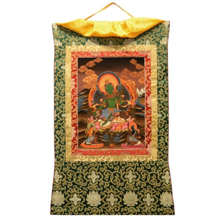Thanka Green Tara