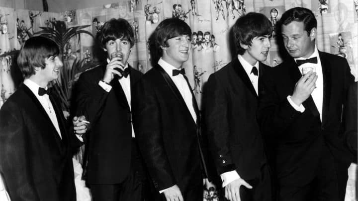 #world - Beatles' 1962 Contract With Manager Brian Epstein Going to Auction @rollingstone Artes & contextos 1401x788 GettyImages 911431551