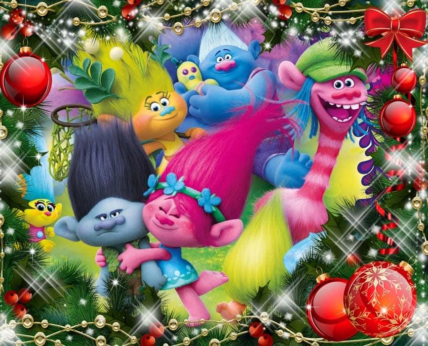 Организация и Проведение Детских Новогодних Праздников в стиле Тролли
