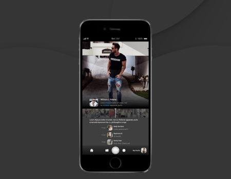 Projektowanie aplikacji UI – aplikacja do zdjęć. Media społecznościowe