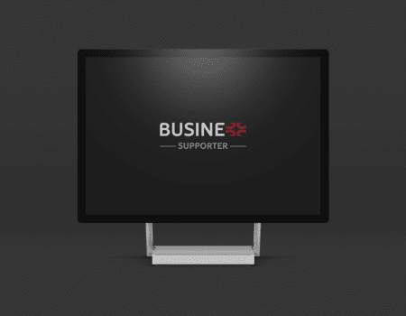 Projektowanie logotypu firmy Business Supporter