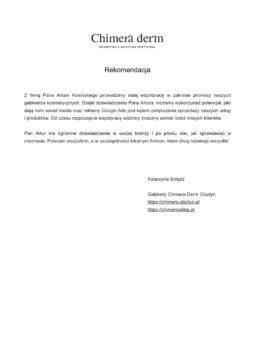 referencje artur kosinski
