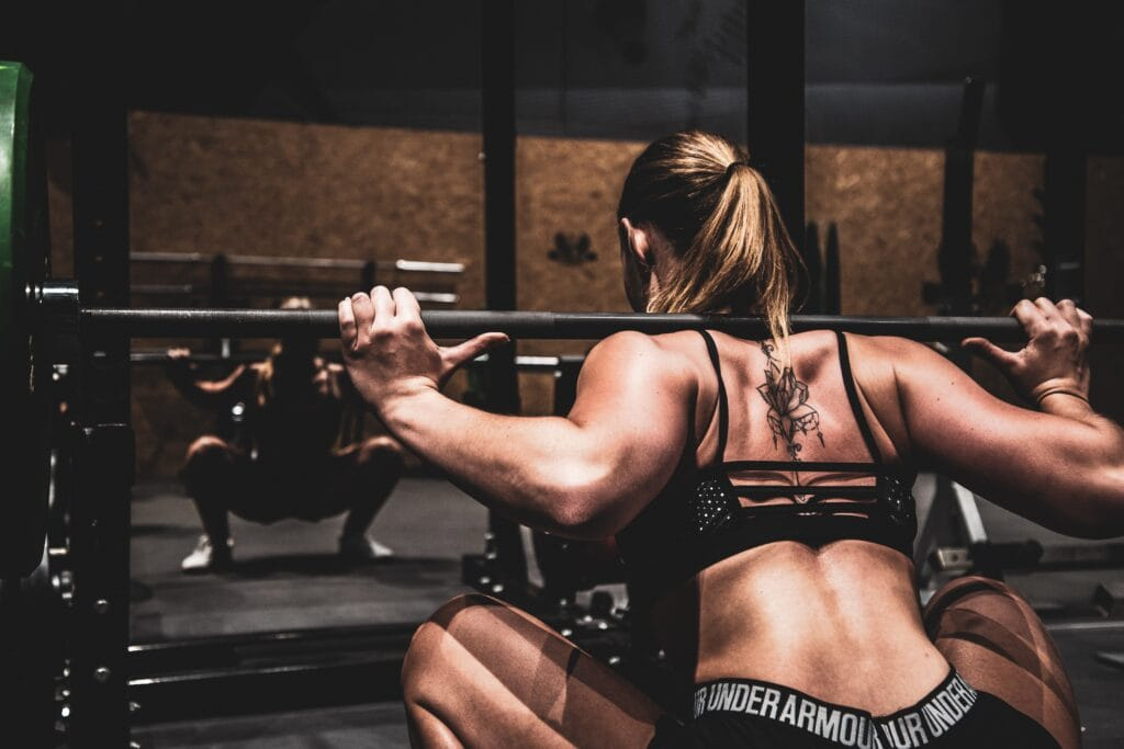 Save Your Back By Switching From Back To Front Squats