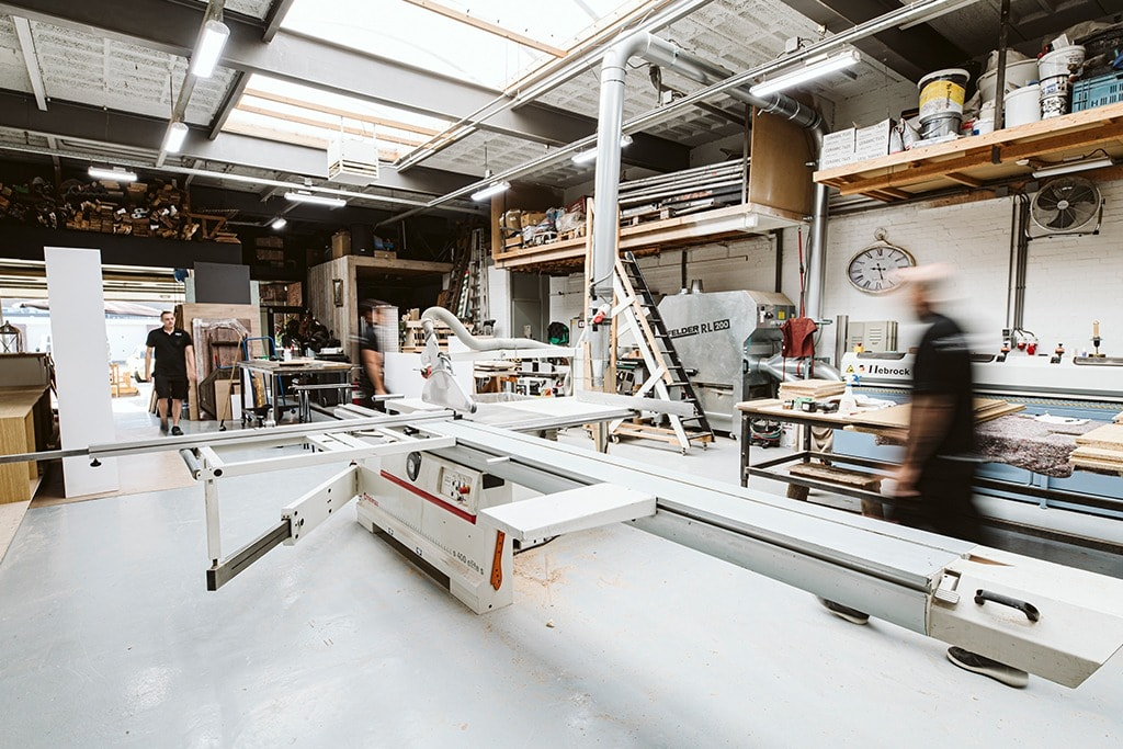 Werkplaats van Atelier 19 in Rotterdam