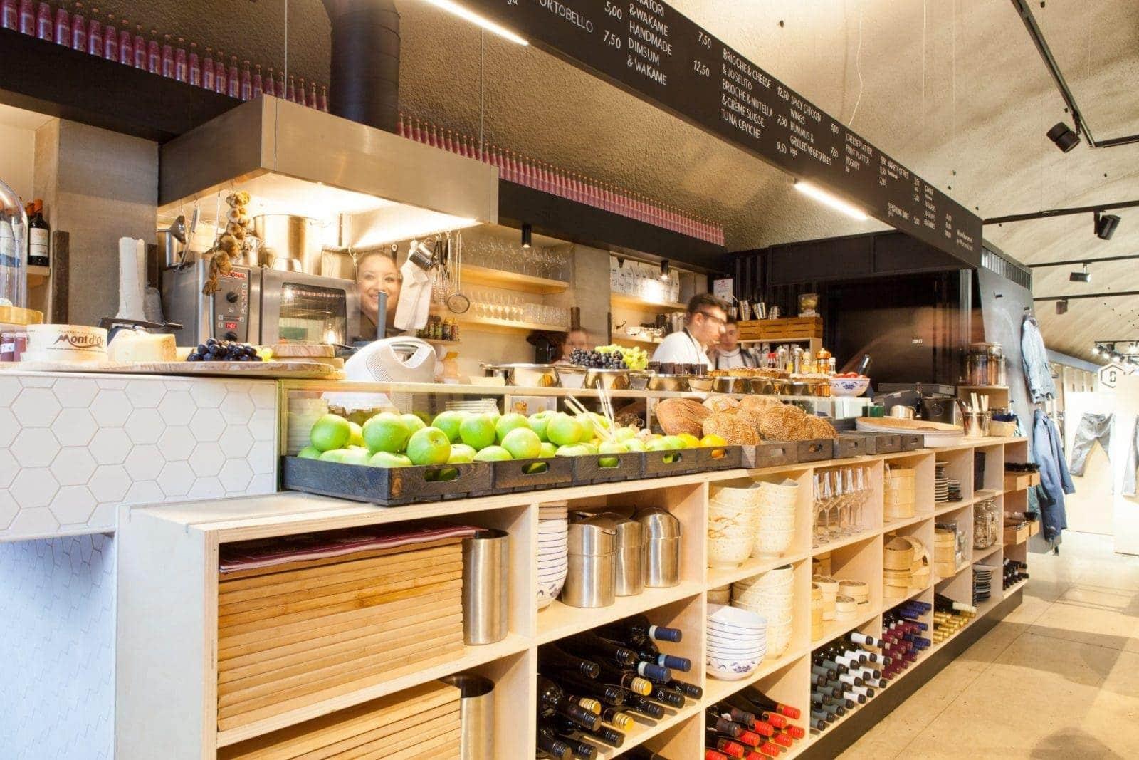 Op maat gemaakte kast voor keuken in Spijkenisse