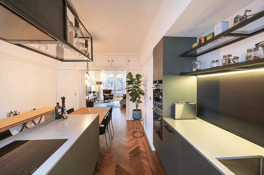 Moderne landelijke keuken laten maken in Rotterdam
