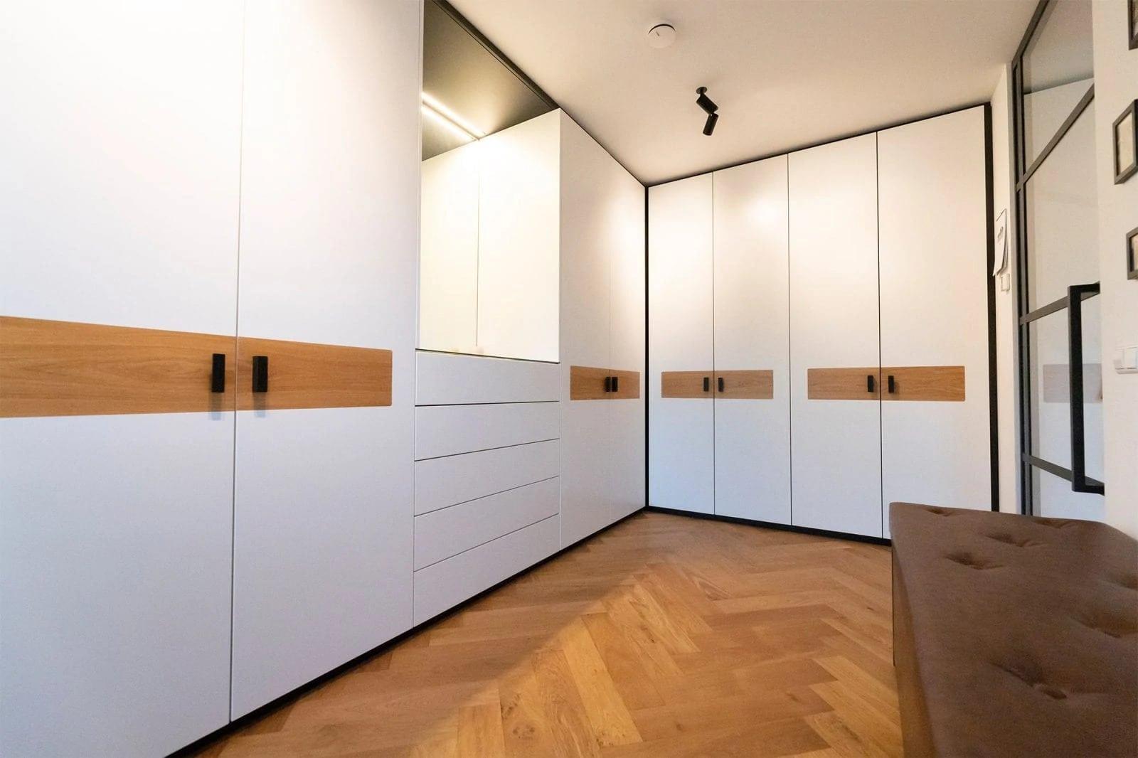 Garderobe Kast Op Maatzwart Wit Door Atelier 19 Meubelmaker