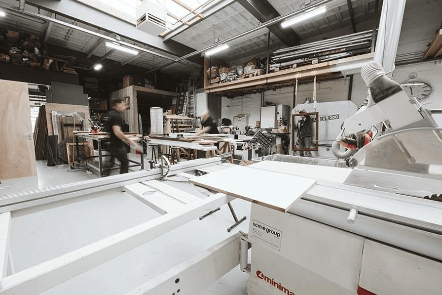 Keuken Op Maat Werkplaats Van Atelier 19 Bergschenhoek