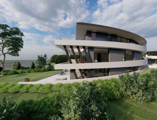 Moderne Baukunst am Pichelsee