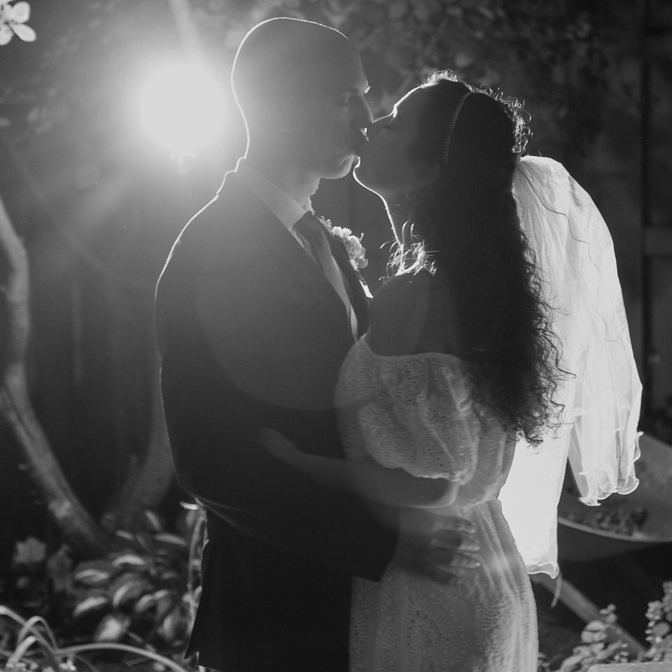 Chicago Wedding Photographer | Jonathan and Taylor Wedding - Wedding Kiss