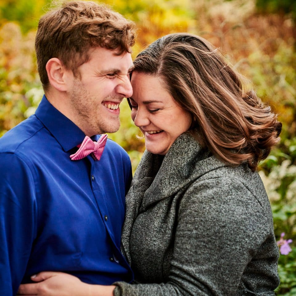 Chicago Wedding Photographer | Allen and Vicky in Lurie Garden, Chicago