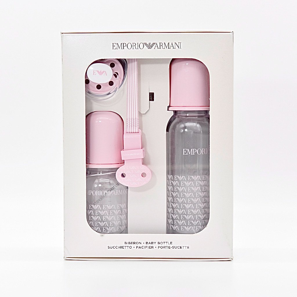 Babyshop - Babyflaschen Rosa Emporio Armani