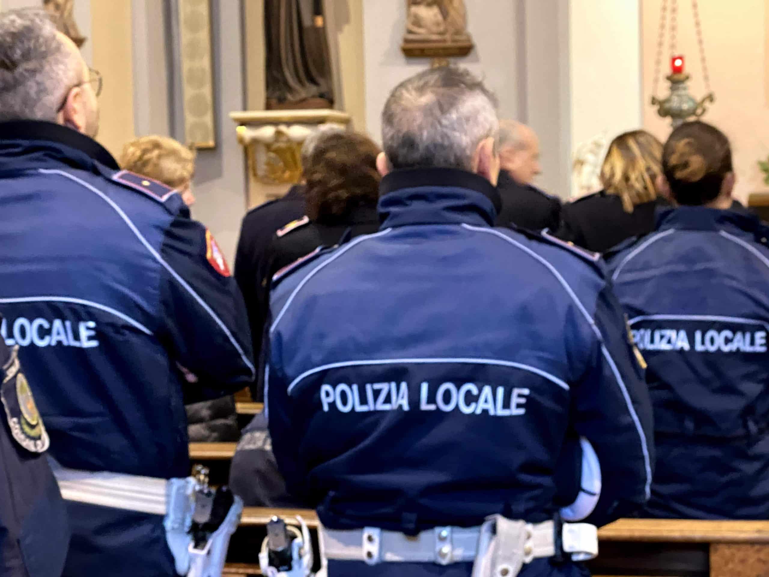 Celebrazione di San Sebastiano con la Polizia Locale di Parabiago