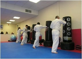 Adults Karate class in Basingstoke