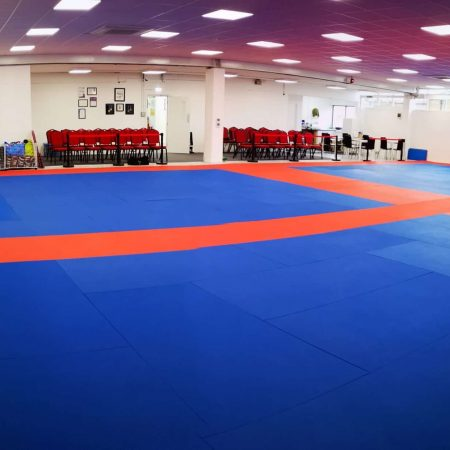 A view across the mats at our Martial Arts training hall