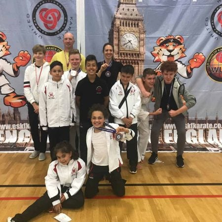Karate kids are winners in competition