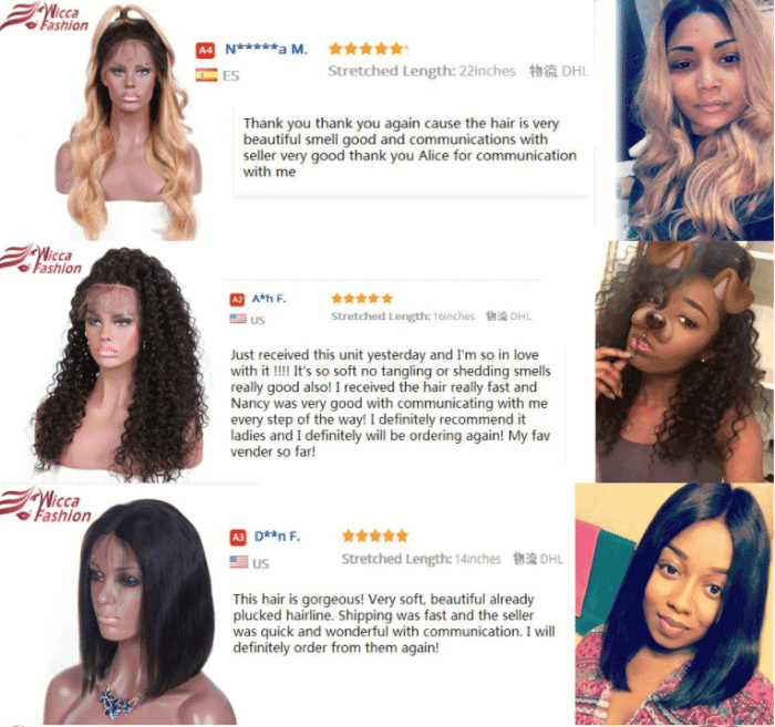 hair wigs review aliexpress