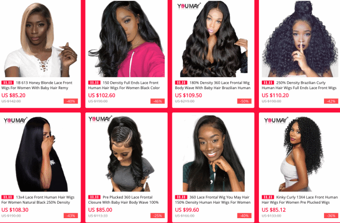 best lace wig hair