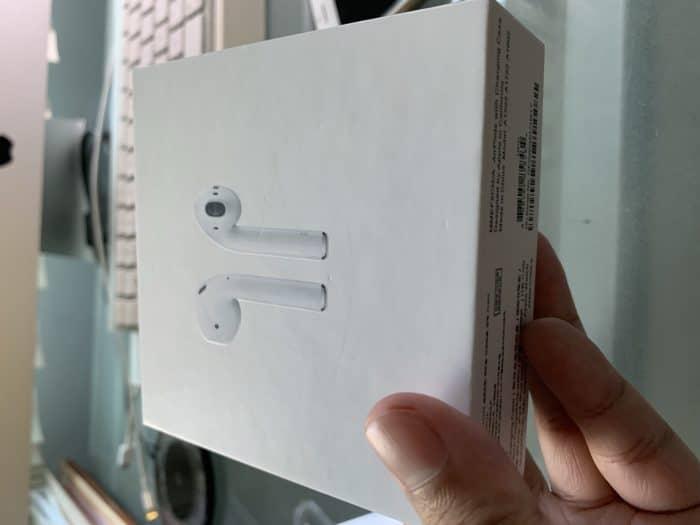 airpods 2 clone box