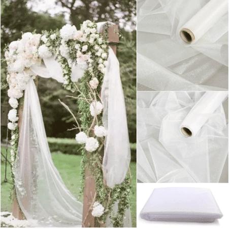 drape for simple wedding